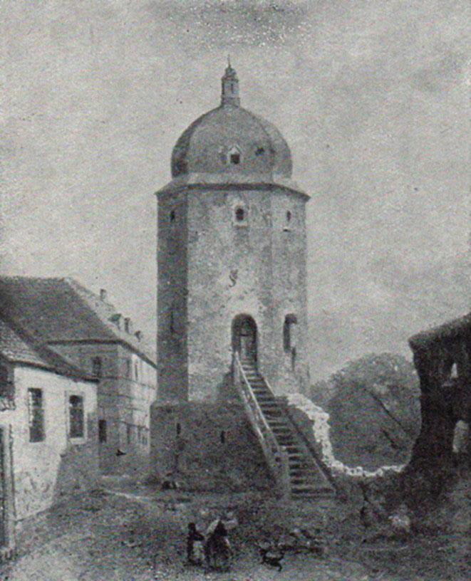 Gemälde Heinrich Koch (1804-1893): Die Heimat, Jg. 1, Heft 1, 1921, Seite 48